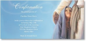 Confirmation Card - 'Under His Wing' | Jay Bryant Ward | 2_2001187-P | Leanin' Tree