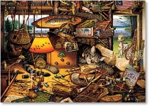 Birthday Card - Reel in a Nice Relaxing Day | Charles Wysocki | 2_2001351-P | Leanin' Tree