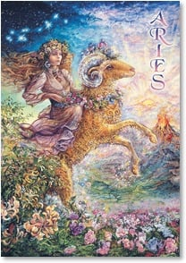 Anytime Wish for You Card - May the Stars Align: Aries | Josephine Wall | 2_2001595-P | Leanin' Tree