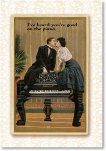 Valentine's Day Card - I Heard You're Good On Top of the Dryer | Postmark Press Inc. | 2_2001610-P | Leanin' Tree