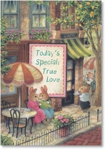 Valentine's Day Card - True Love on the Menu | Susan Wheeler | 2_2001638-P | Leanin' Tree