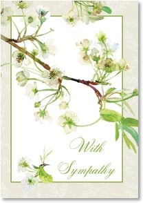 Sympathy Card - ...in the thoughts and prayers of many. | Gail Flores | 2_2001660-P | Leanin' Tree