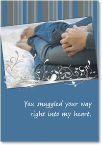 Love &amp; Romance Card - And I'm not letting you out! | Masterfile Corporation | 2_2001699-P | Leanin' Tree