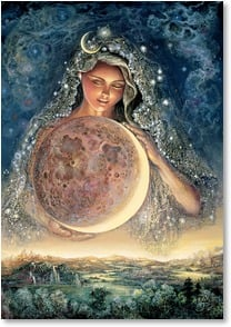Blank Card - Moon Goddess | Josephine Wall | 2_2001715-P | Leanin' Tree