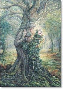 Anniversary Card - The only world I can see... | Josephine Wall | 2_2001719-P | Leanin' Tree