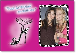 Birthday Card - Funny Friend Quote for Shoe Sister | Mitch | 2_2001759-P | Leanin' Tree