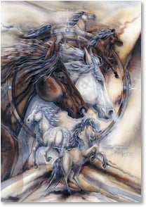 Anytime Wish for You Card - May adventure await you! | Jody Bergsma | 2_2001865-P | Leanin' Tree