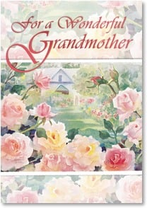 Birthday Card - Blessings for Grandmother; 1 Timothy | Judy Buswell | 2_2001951-P | Leanin' Tree