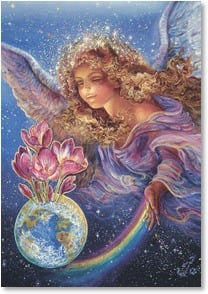 New Year's Day Card - Hope and Peace Spring Eternal | Josephine Wall | 2_2002424-P | Leanin' Tree