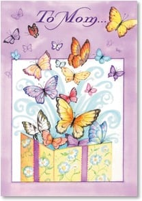 Birthday Card - You're a wonderful gift to my world! | Tracy Flickinger | 2_2002548-P | Leanin' Tree