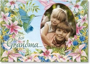 Birthday Card - For Grandma, we'll always love you! | Kathleen Parr McKenna | 2_2002683-P | Leanin' Tree