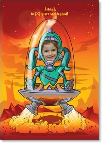 Birthday Card - Have an Out of this World Happy Birthday! | Brant Nicholason | 2_2002903-P | Leanin' Tree