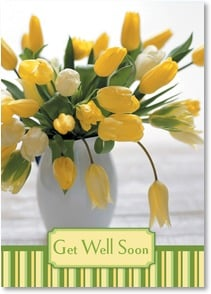 Get Well Card - Best wishes for a speedy recovery. | Masterfile Corporation | 2_2003726-P | Leanin' Tree