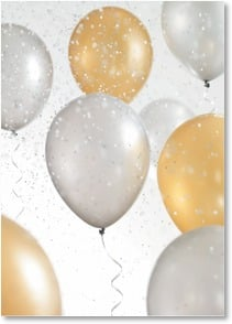 Blank Card - Balloon Celebration | Masterfile Corporation | 2_2003727-P | Leanin' Tree