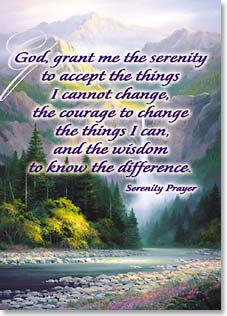 Magnet - Serenity Prayer | Charles H. Pabst | 31121 | Leanin' Tree