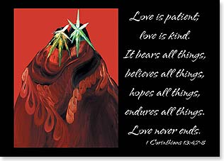 Magnet - Love is Patient I Corinthians 13:4 | Bill Rabbit | 31274 | Leanin' Tree