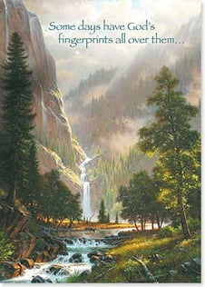 Magnet - Staff Pick - God's fingerprints.. | Mark Keathley | 31296 | Leanin' Tree