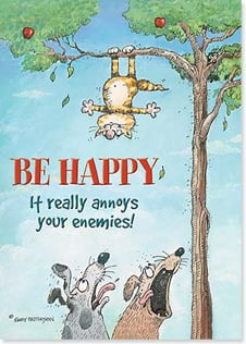 Magnet - Staff Pick - Be Happy, it really annoys your enemies! | Gary Patterson | 31301 | Leanin' Tree