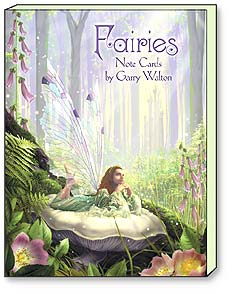 Boxed Blank Note Cards - Fairies by Garry Walton - 34600 | Leanin' Tree