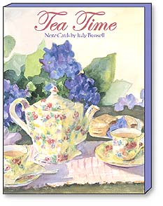 Boxed Blank Note Card  Assortment - Tea Time by Judy Buswell | Judy Buswell | 34604 | Leanin' Tree