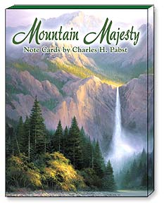 Boxed Blank Note Cards - Blank Note Cards | Mountain Majesty - 34606 | Leanin' Tree