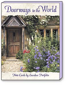 Boxed Blank Note Cards<BR/>3 each of 4 designs - Doorways to the World by Scanlan Portfolio - 34609 | Leanin' Tree