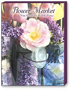 Boxed Blank Note Cards<BR/>3 each of 4 designs - Blank Note Cards | Flower Market - 34615 | Leanin' Tree