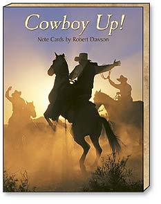 Boxed Blank Note Cards<BR/>3 each of 4 designs - Cowboy Up! by Robert Dawson - 34620 | Leanin' Tree