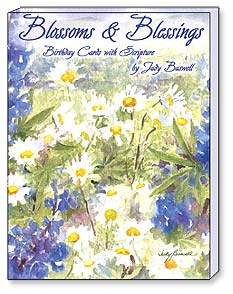 Boxed Greeted Note Cards<BR/>3 each of 4 designs - Blossoms & Blessings - 34624 | Leanin' Tree