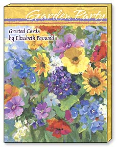 Boxed Greeting Note Cards - Greeted Note Cards | Garden Party | Elizabeth Brownd | 34626 | Leanin' Tree