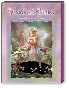 Boxed Greeted Note Cards<BR/>3 each of 4 designs -  Woodland Fairies by Lisa Jane | Lisa Jane | 34627 | Leanin' Tree