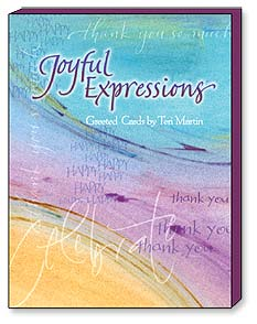 Boxed Greeting Note Cards - Greeted Note Cards | Joyful Expressions by Teri Martin | Teri Martin | 34629 | Leanin' Tree