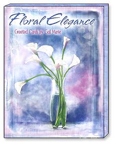 "Boxed Greeted Note Cards<BR/>3 each of 4 designs - ""Floral Elegance"" by Gail Marie 