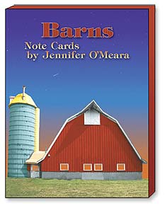 Boxed Note Assortments - Barns by Jennifer O'Meara | Jennifer O'Meara | 34643 | Leanin' Tree