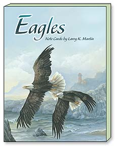 Boxed Blank Note Cards<BR/>3 each of 4 designs - Eagles | Larry K. Martin | 34644 | Leanin' Tree