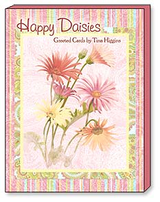 Boxed Greeted Note Cards<BR/>3 each of 4 designs - 'Happy Daisies' by Tina Higgins | Tina Higgins | 34646 | Leanin' Tree