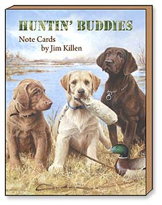Boxed Blank Note Cards - Huntin' Buddies by Jim Killen - 34651 | Leanin' Tree