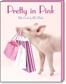 Boxed Blank Note Cards - Blank Note Cards | Pretty In Pink - 34654 | Leanin' Tree