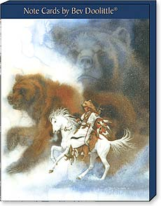 Boxed Blank Note Cards<BR/>3 each of 4 designs - Native Spirits by Bev Doolittle - 34668 | Leanin' Tree