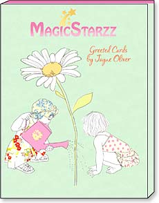 Boxed Greeted Note Cards<BR/>3 each of 4 designs - MagicStarzz by Jayne Oliver - 34672 | Leanin' Tree
