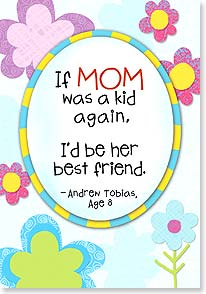 Mother's Day Card - You're more than a mom. You're a friend, too. | Kate Harper | 38490 | Leanin' Tree