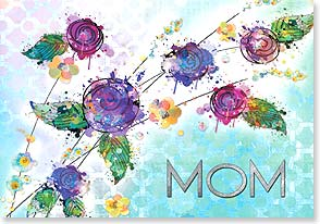 Mother's Day Card - How lucky I am to call you 'Mom.' | Connie Haley | 38497 | Leanin' Tree