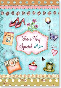 Mother's Day Card - Wishing you a whole lot of love! | Barbara Ann Kenney | 38503 | Leanin' Tree