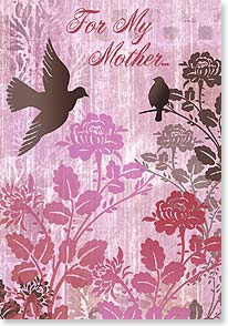 Mother's Day Card - ...who gave me wings to fly and a safe place to land. | Bee Sturgis | 38505 | Leanin' Tree