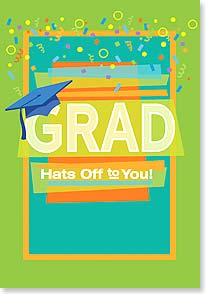 Graduation Card - You made it, you did it, your're done...WAHOO! | Robin Pickens | 38567 | Leanin' Tree