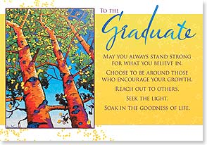 Graduation Card - Enjoy your day in the sun...Congratulations! | Matthew Sievers | 38568 | Leanin' Tree