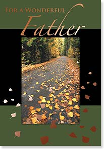 Father's Day Card - In many ways a father is a travel guide... | Masterfile Corporation | 38654 | Leanin' Tree