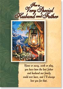 Father's Day Card - Home or away, work or play... | Dona Gelsinger | 38656 | Leanin' Tree