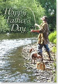 Father's Day Card - A perfectly wonderful day. | Richard Macneil | 38661 | Leanin' Tree