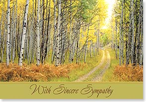 Sympathy Card - Remembering a special soul... | John Fielder | 38695 | Leanin' Tree